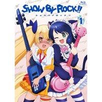 SHOW BY ROCK!! 1(イベントチケット優先販売申込券付き)(新規書き下ろしキャラクターソングCD(2曲)付き)(アプリゲーム「SHOW BY ROCK!!」アニメオリジナルURブロマイドDLコード付き) [Blu-ray]